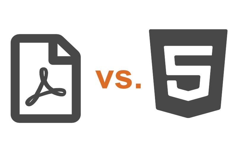 PDF vs. HTML – was ist besser?