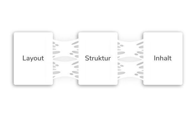 Trennung von Inhalt, Struktur und Layout, das geht?